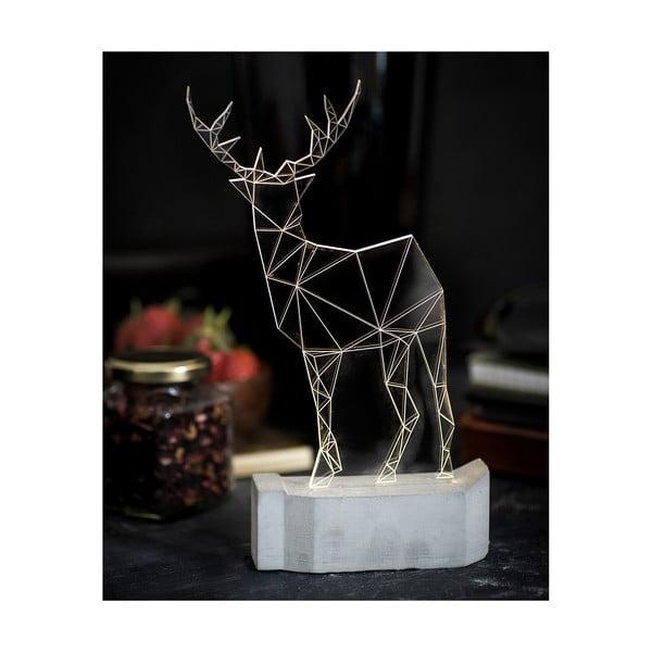Lampka Deer, 23 cm