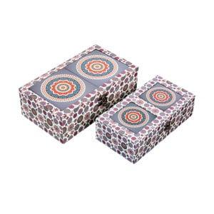 Zestaw 2 pudełek do przechowywania Energy