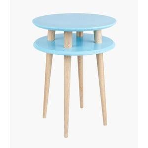 Stolik kawowy UFO 61x45 cm, niebieski