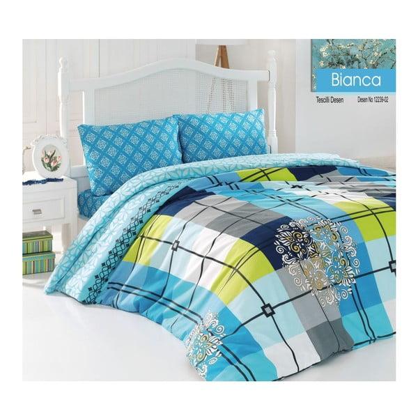 Zestaw pościeli Bianca Blue, 240x220 cm