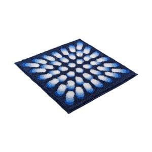 Dywanik łazienkowy Kolor My World VII 60x60 cm, niebieski