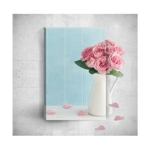Obraz 3D Mosticx Pink Roses, 40x60 cm