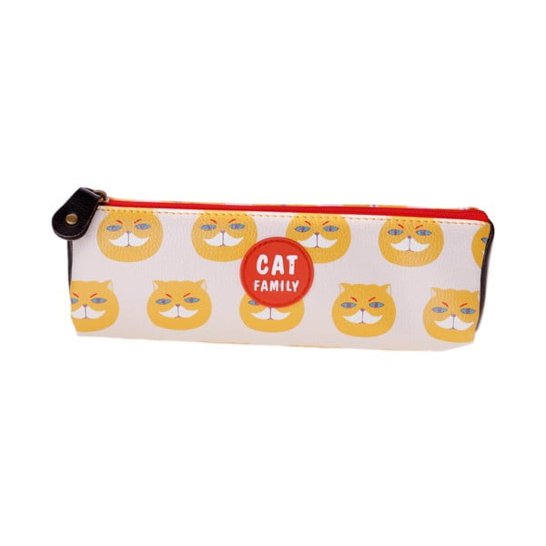 Piórnik Cat, beżowy