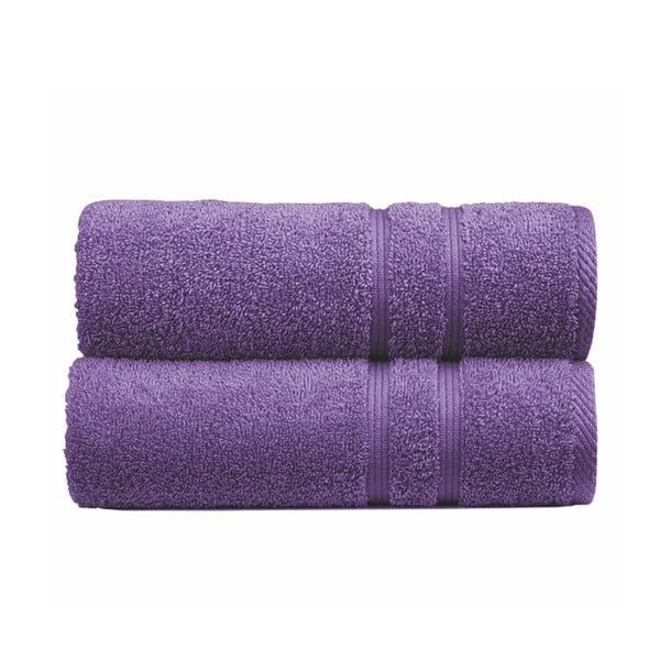 Ręcznik Sorema Basic Purple, 70x140 cm