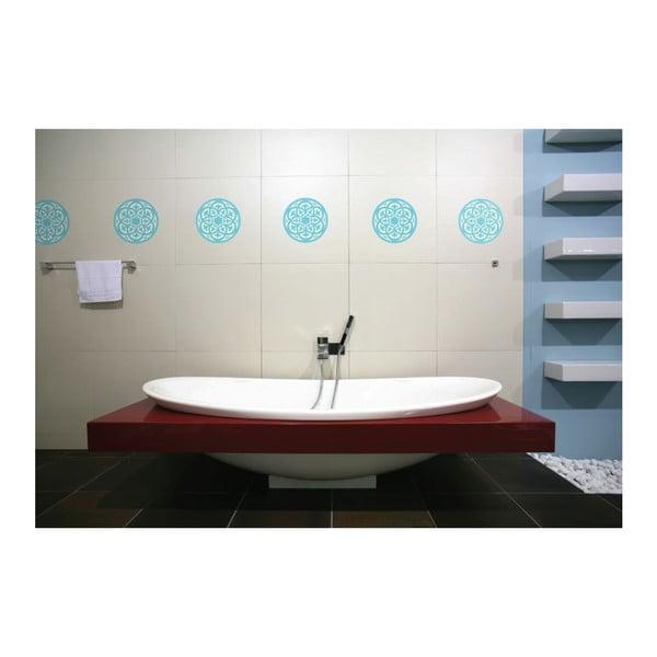 Naklejki Mandala, light blue, 4 szt