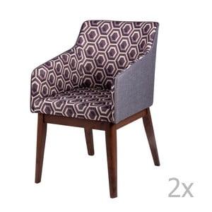 Zestaw 2 krzeseł sømcasa Clio