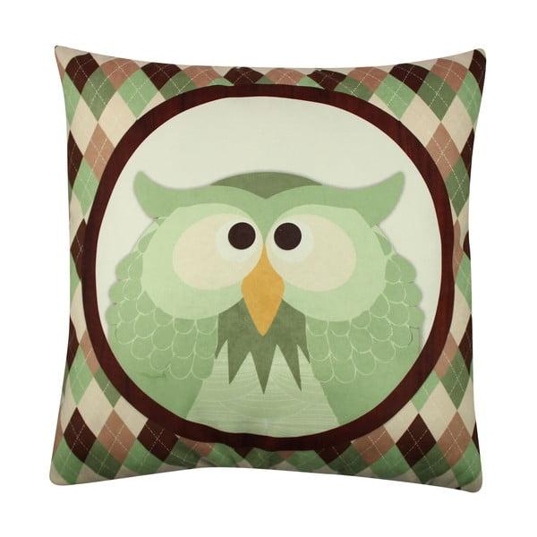 Poduszka Owl No. 1, 43x43 cm
