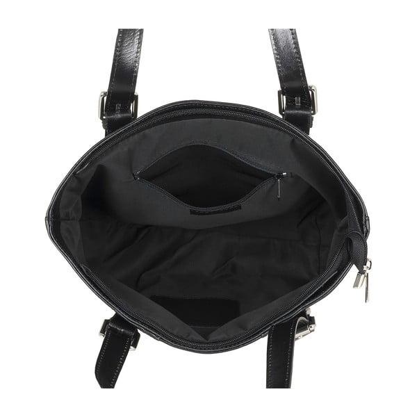 Skórzana torebka Italian Lady, czarna