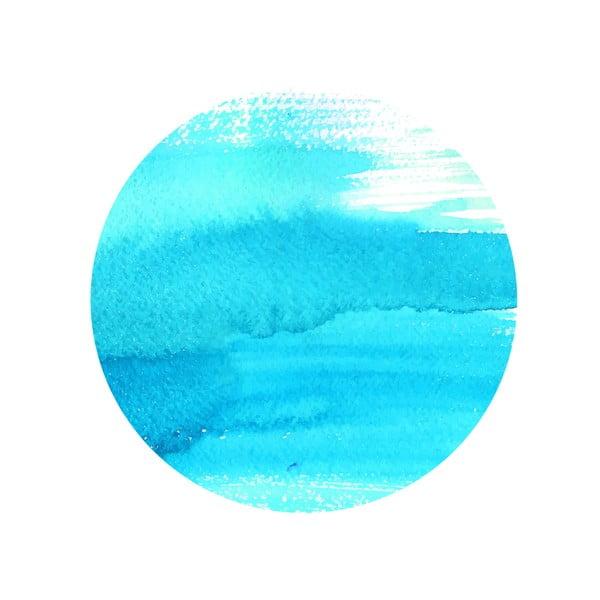 Zestaw 2 stolików Turquoise Sea, 35 cm + 49 cm