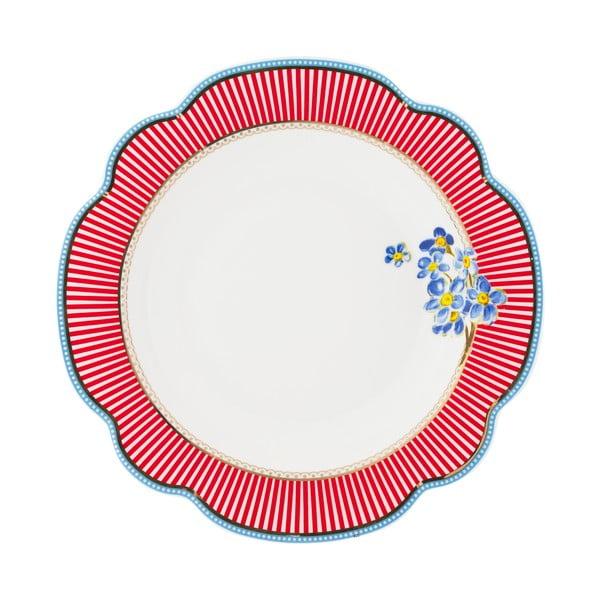Porcelanowy głęboki talerz Happy Lisbeth Dahl, 24 cm, 2 szt.