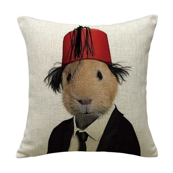 Poszewka na poduszkę Hamster, 45x45 cm