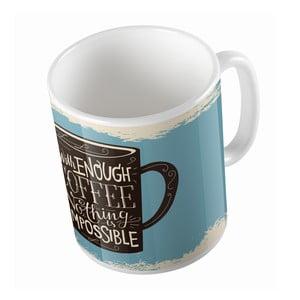Ceramiczny kubek Butter Kings Enough Coffee, 330 ml