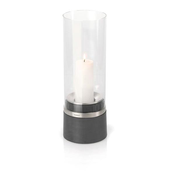 Świecznik ze świeczką Blomus Piedra, 33 cm