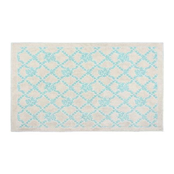 Bawełniany dywan Oni 60x90 cm, turkusowy