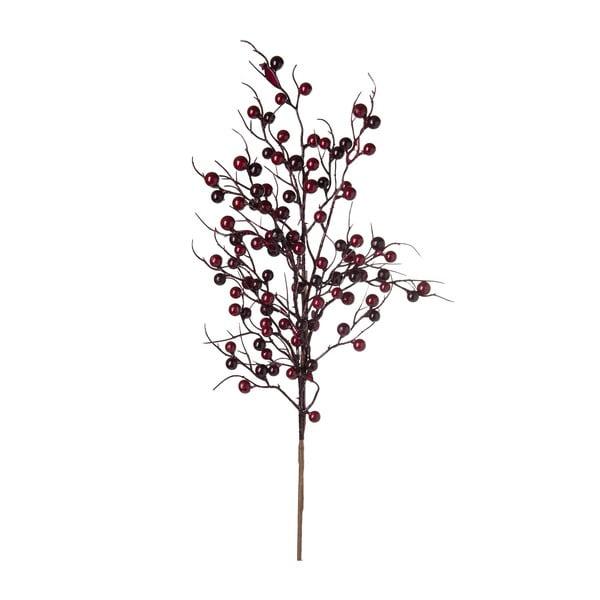 Dekoracja J-Line Berries Burgundy