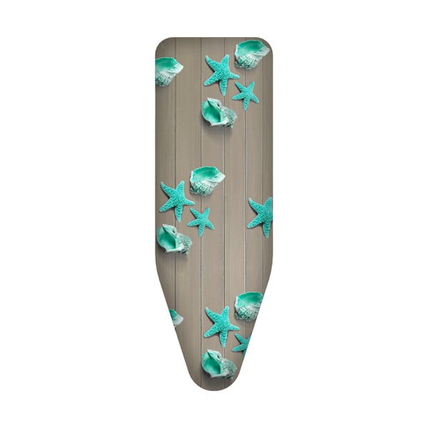 Pokrowiec na deskę do prasowania New Design Wood, 124x48 cm