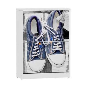 Szafka na buty z 2 przegródkami 13Casa Elin Shoes