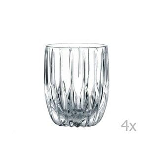 Komplet 4 szklanek do whisky ze szkła kryształowego Nachtmann Prestige, 290 ml