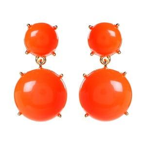 Kolczyki Bubble Gum Orange