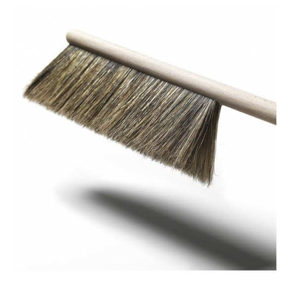 Zmiotka i szczotka z naturalnym włosiem Broom, zielona