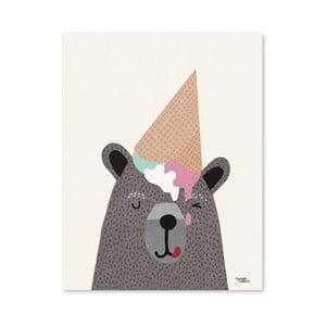 Plakat Michelle Carlslund I Love Ice Cream, 50x70cm