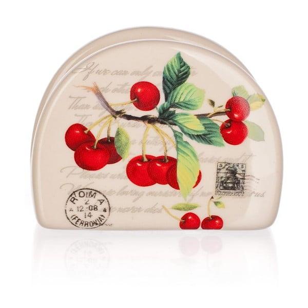 Stojak na serwetki Cherries