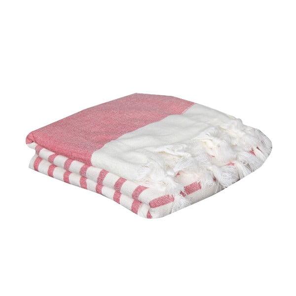 Ręcznik hammam Terry Red, 95x170 cm