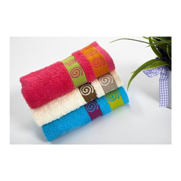 Zestaw 3 ręczników Truva V4, 30x50 cm