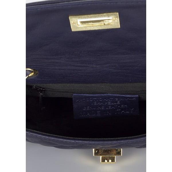 Skórzana torebka Markese 6997 Blue