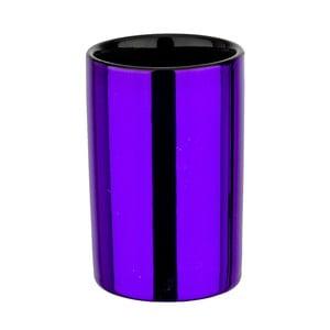 Kubek na szczoteczki Purple Metallic