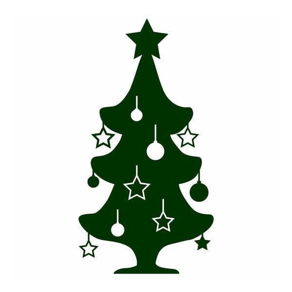 Naklejka Little Green Christmas Tree