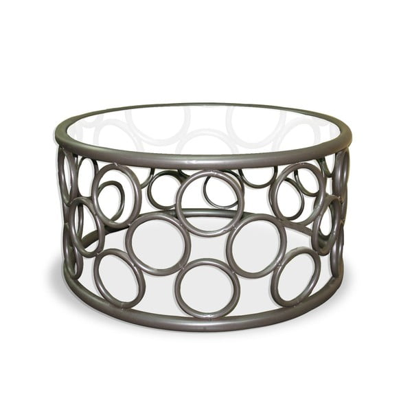 Metalowy stolik Iron Circles