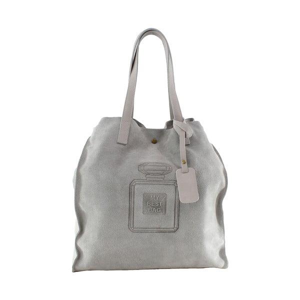 Skórzana torebka Perfume, beżowa