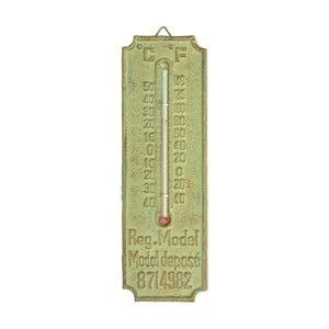 Zielony termometr żeliwny Ego Dekor