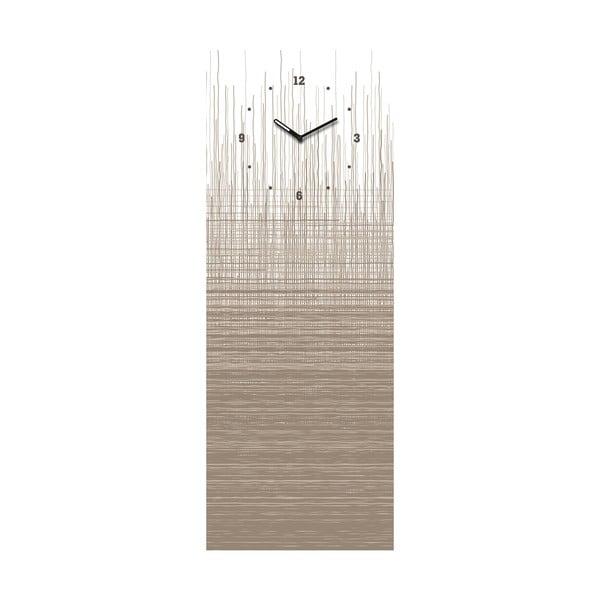 Tablica magnetyczna z zegarem Eurographic Structure Board, 30x80 cm