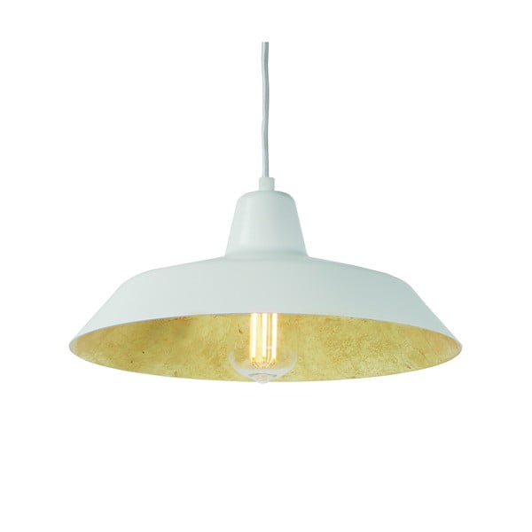 Lampa   wisząca Cinco, złoto-biała