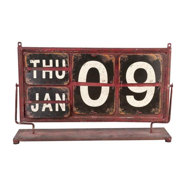 Czerwony kalendarz Clayre & Eef