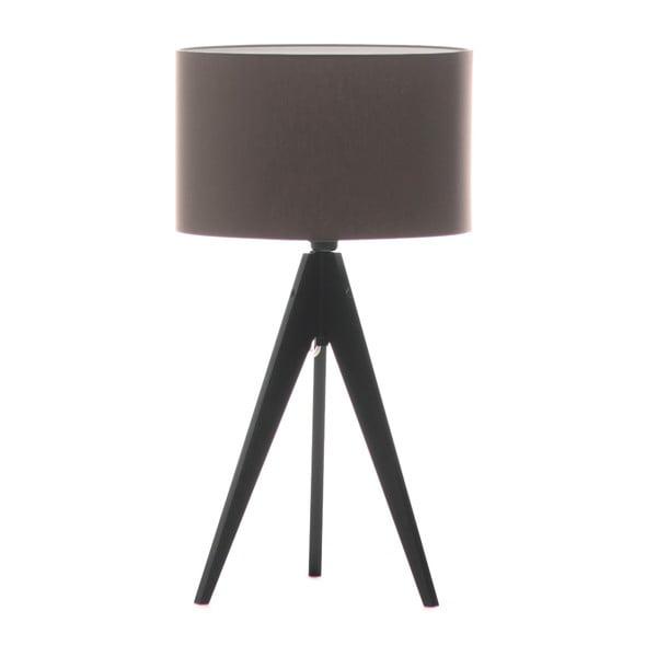 Lampa stołowa Artist Dark Taupe/Black, 40x33 cm
