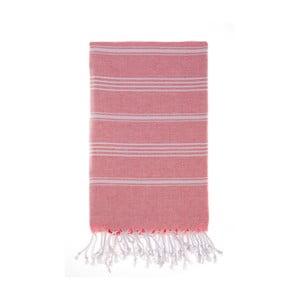 Ręcznik Hamam Cesme Red, 100x180 cm