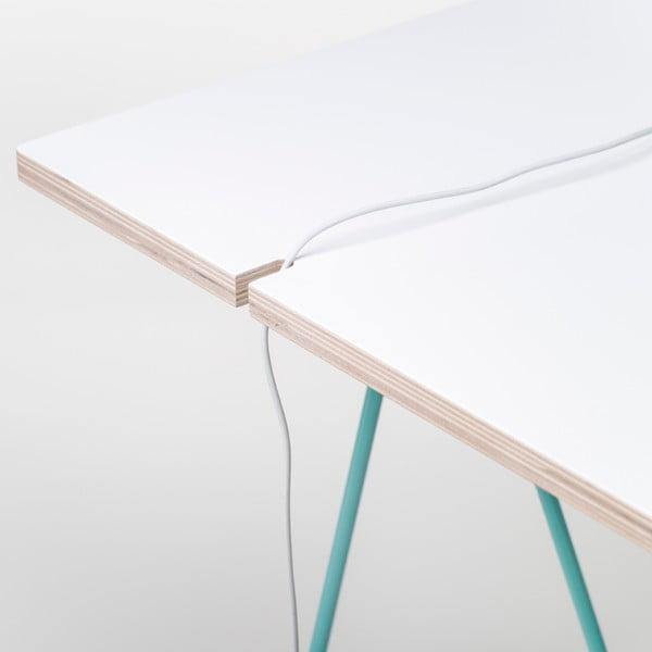 Blat Studio - biały, 130x60 cm