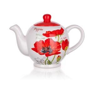 Dzbanek ceramiczny Banquet Red Poppy, 1200 ml