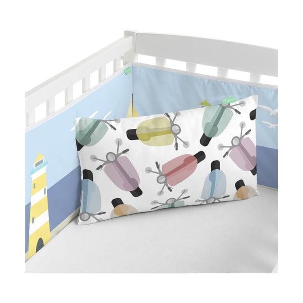 Ochraniacz do łóżeczka Happynois Summer Time, 210x40 cm