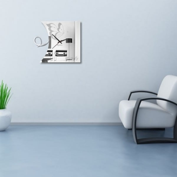 Zegar ścienny Butterfly Clock