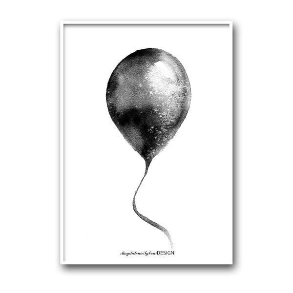 Plakat autorski Ballong, 30x40 cm