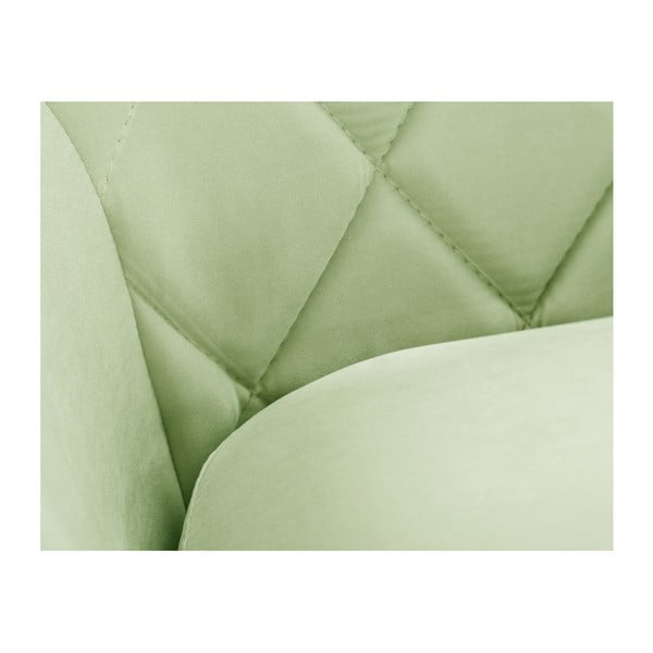 Pistacjowa sofa 2-sobowa Scandi by Stella Cadente Maison Diva