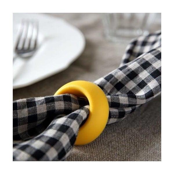 Podstawka na jajka/pierścień na serwetki Don Pasquale, biały