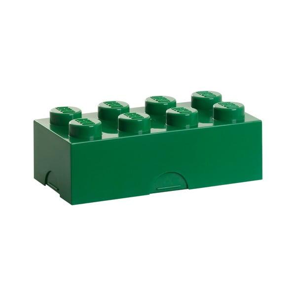 Ciemnozielone pudełko śniadaniowe LEGO®
