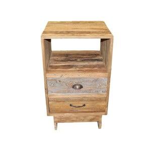 Komoda z 2 szufladami z drewna tekowego HSM Collection Baliaga
