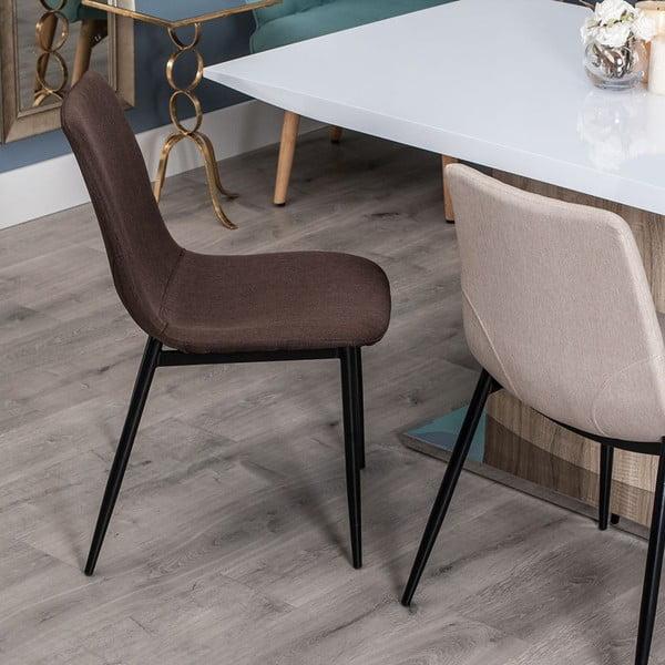 Krzesło Simplicity, czekoladowe