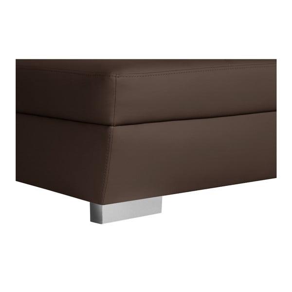 Czekoladowa sofa Parure